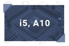 i5, A10
