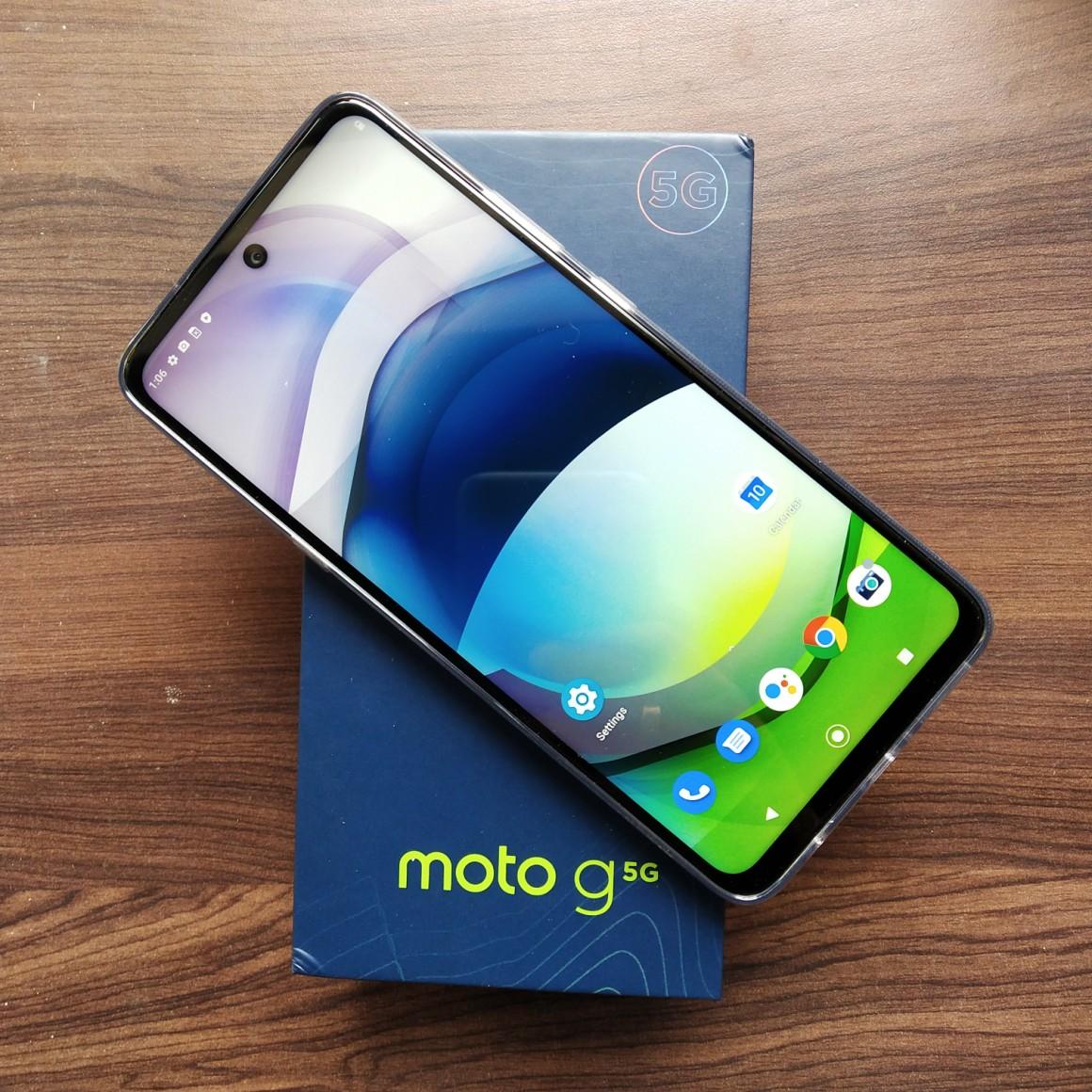 Motorola G 5G  on Flipkart sale