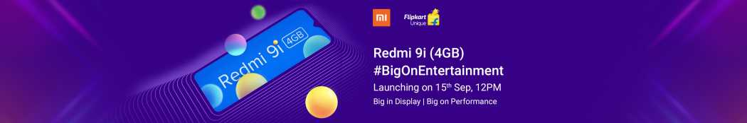Redmi 9i Coming Soon