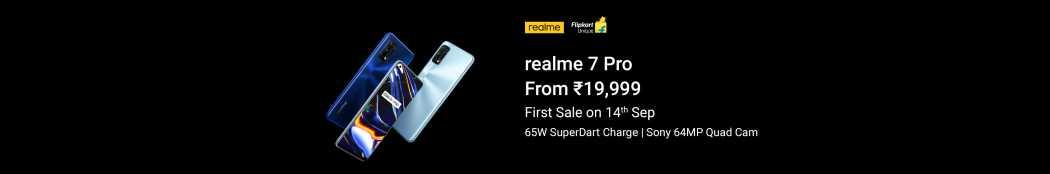 Realme 7 Pro (Mirror Blue, 128 GB)