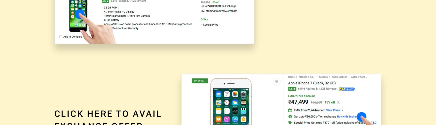 Mobile Exchange Offers - Exchange Your Old Mobile with Brand