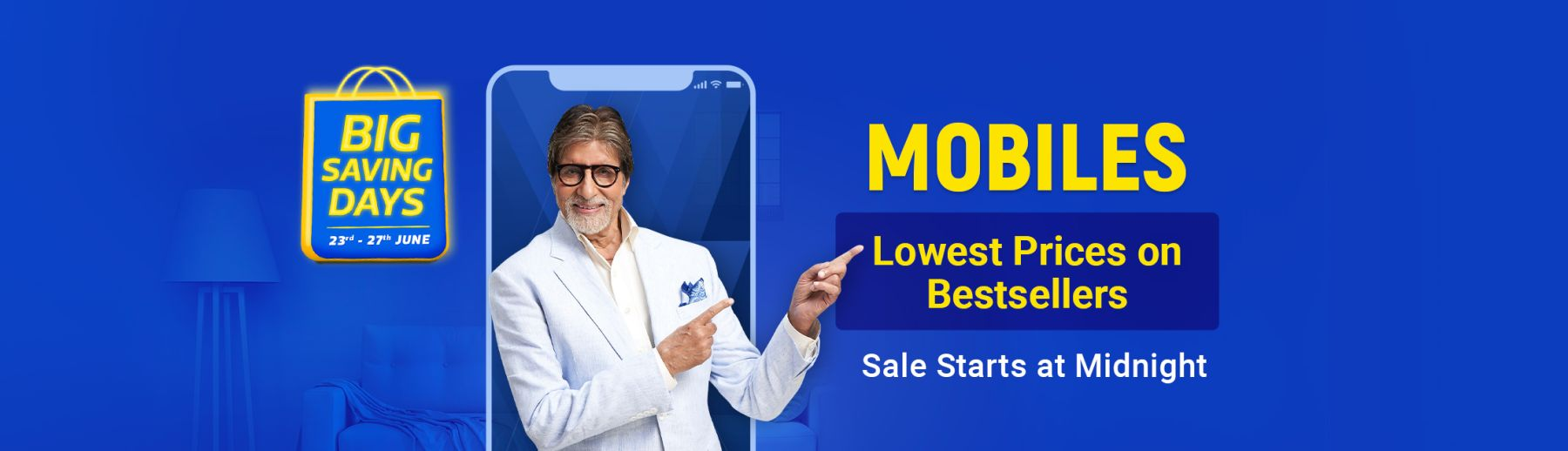 Flipkart Big Saving Days | 23-27 June 2020