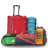 Upto 80%+Extra5%Off Skybags, American Tourister... Backpacks, Trolleys, Wallets...