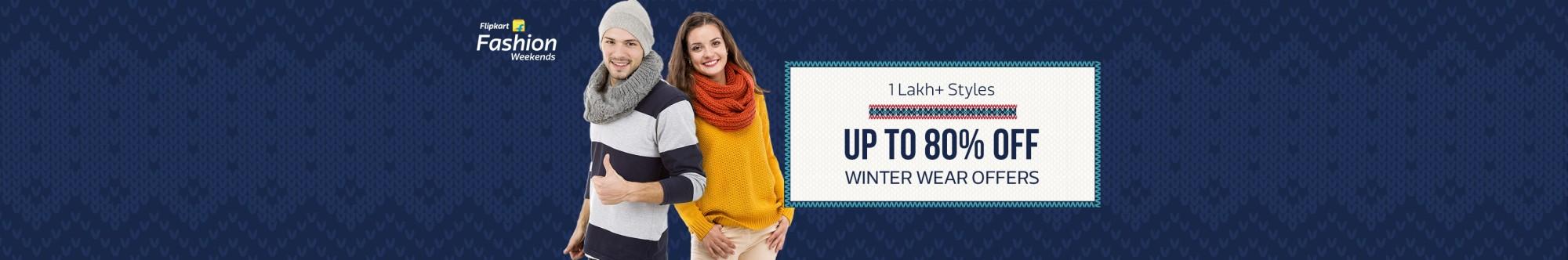 Flipkart winter wear offer coupons