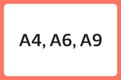 A4, A6, A9