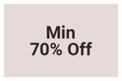 Min 70% Off