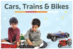 Cars, Trains & Bikes