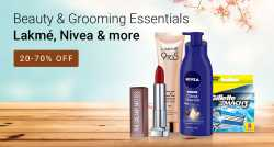 Get 20%-70% off on Beauty & Grooming Essentials