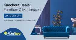 Up to 75% off on Furniture & Mattresses