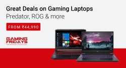 Start Rs.44,990 Gaming Laptops