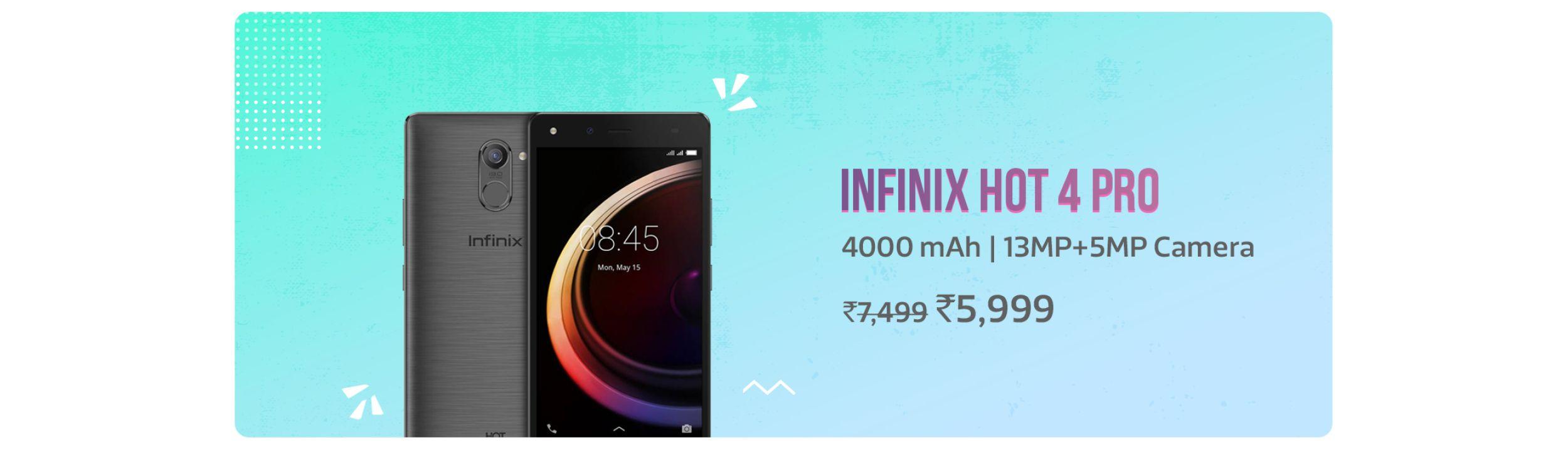 Infinix Hot 4 Pro Banner