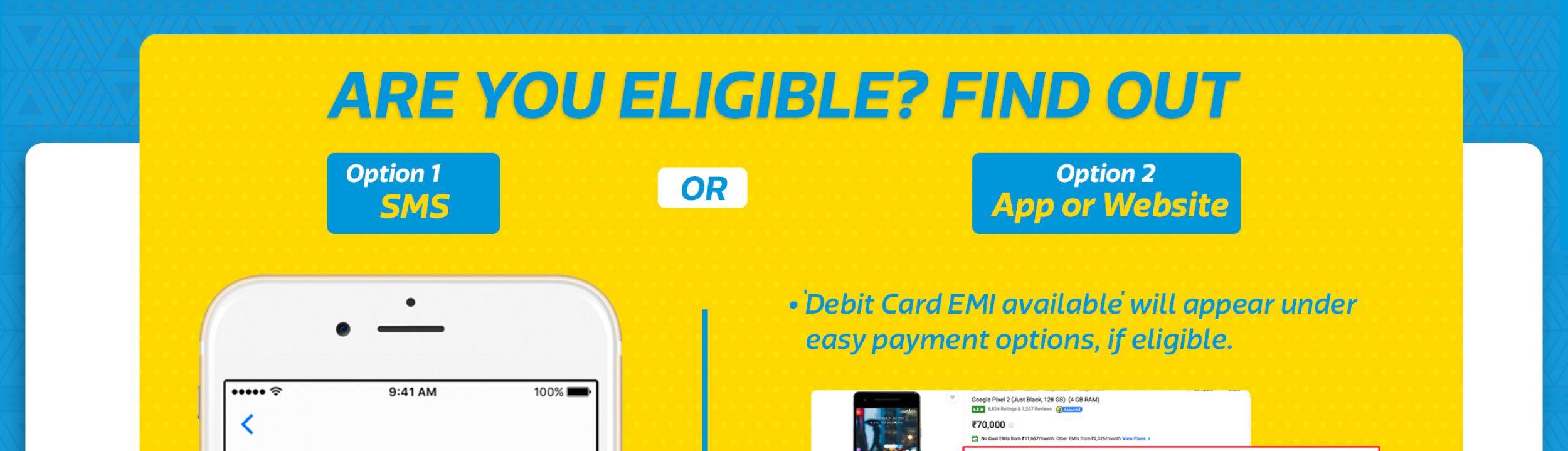 0602b3000 ... EMI on debit card option. sada sada. aqwsass aqwsass