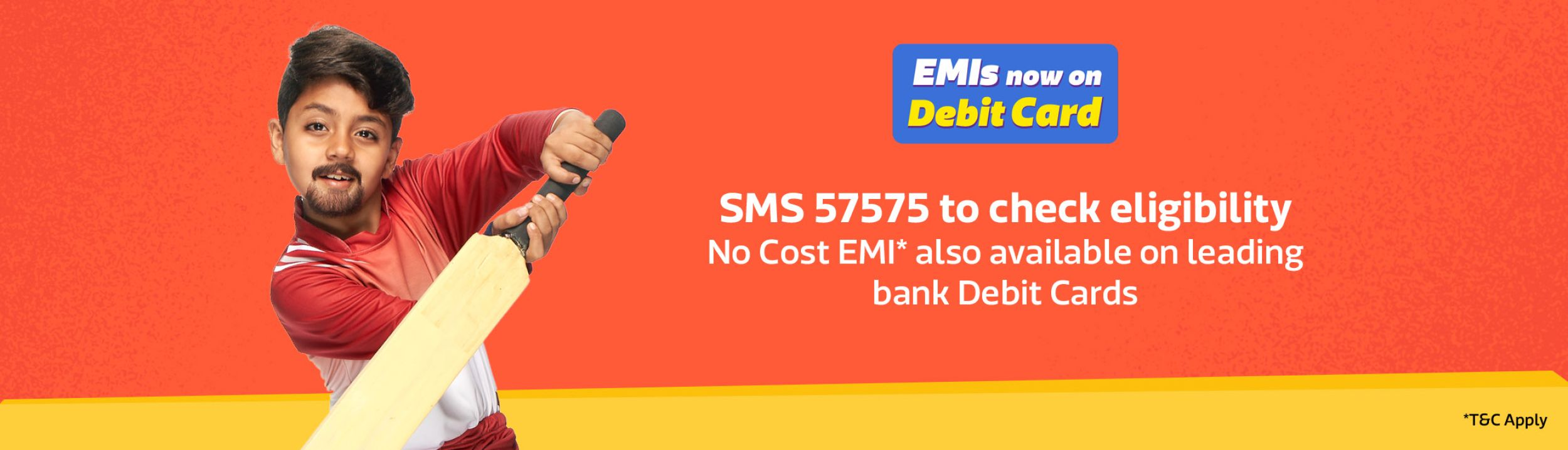 75cac8f37 ... EMI on debit card option. sada sada