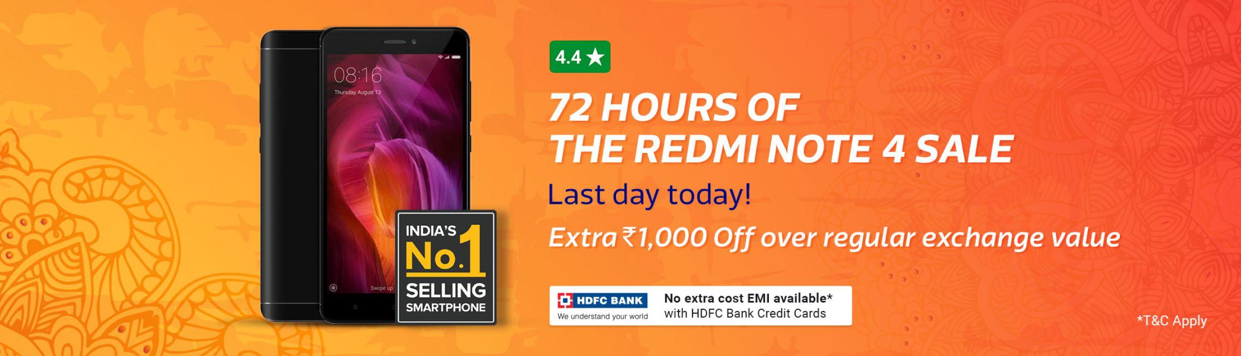 Redmi Note 4 Mobiles Price in India