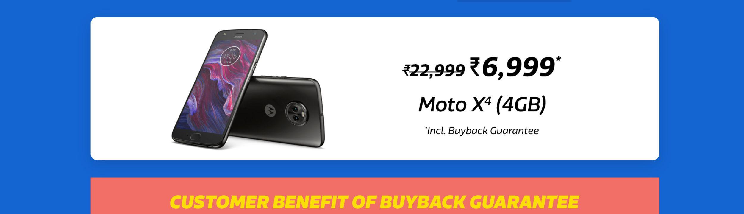 Moto X4 SVW-BBG-CC