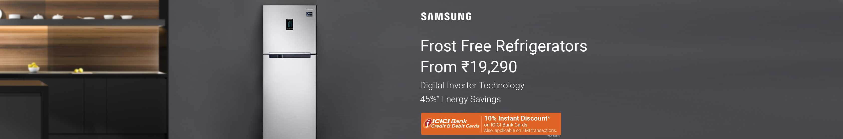 Samsung Double Door Fridge - Buy Samsung Double Door Fridge Online at Best Prices