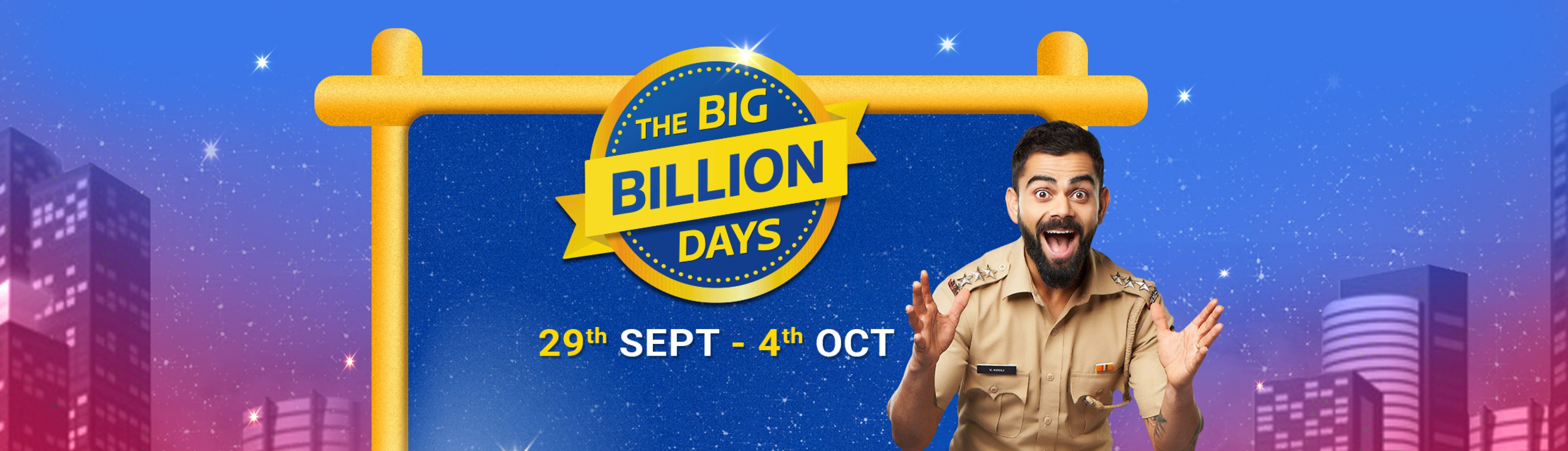 40-80% off on The Flipkart The Big Billion Days Sale