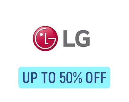 Refrigerators Up to 50% OFF on LG