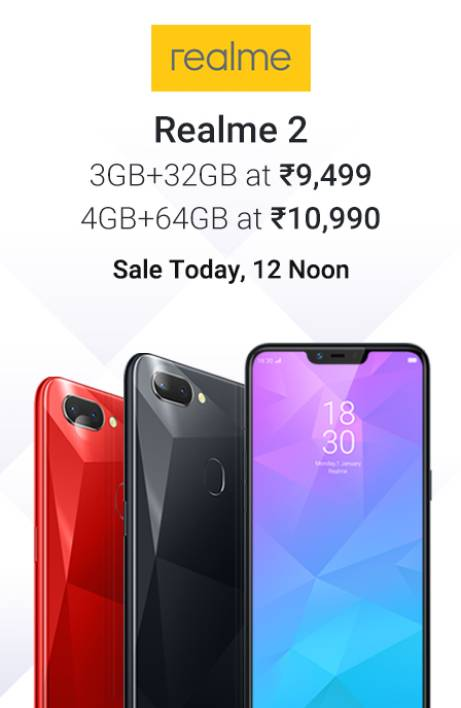 Realme Sale Today