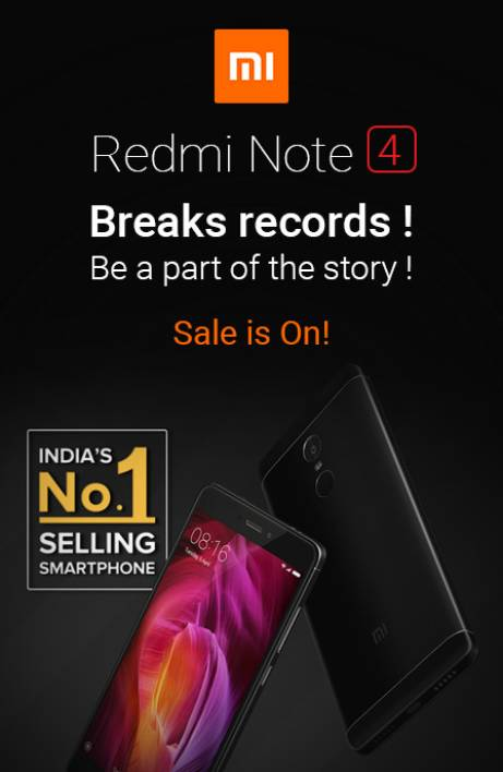 Redmi Sale is On Break Records RHS 26th July