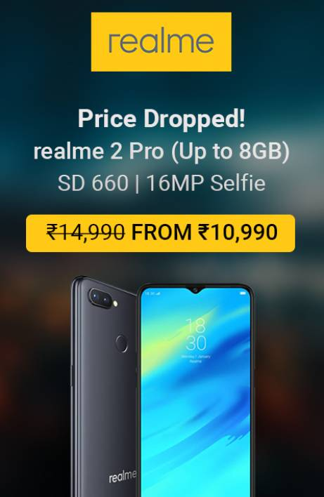 Realme 2 pro sale is on