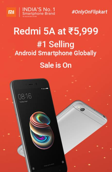 Redmi 5a sale is on