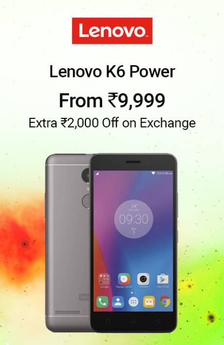 Lenovo K6 Power RHS