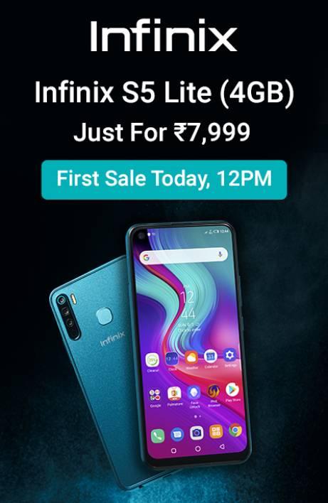 Infinix S5 Lite Sale Today