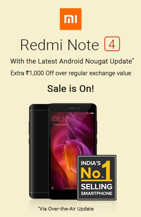 Redmi Sale is On RHS 16th Aug