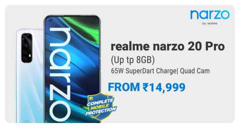 Narzo 20 Pro