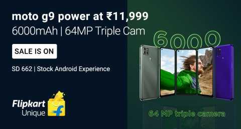 Moto g9 Power - Sale is On