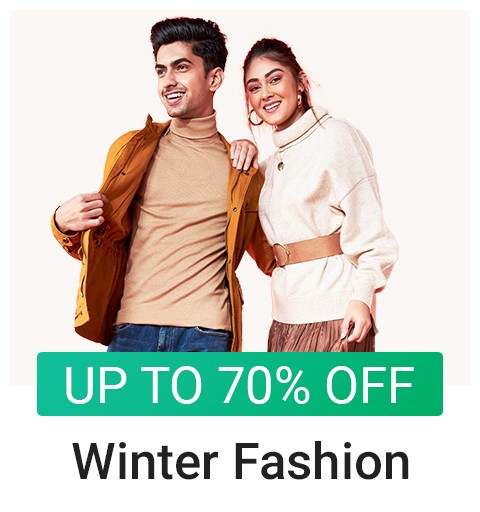 Winter Fashion- Up to 70% OFF