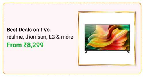 Flipkart Daily Deals & Discount Sale - Tv starting at just ₹8299