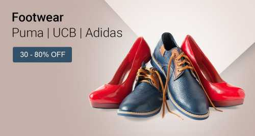 Footwear Sale on Flipkart