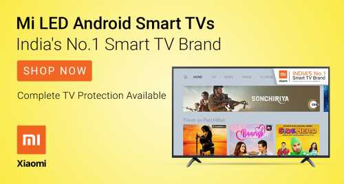 Flipkart Daily Deals & Discount Sale - Mi Televisions starting at just ₹12999