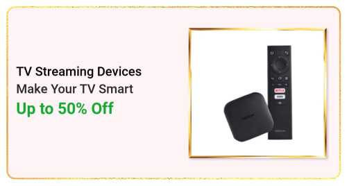 Flipkart Daily Deals & Discount Sale - Avail Upto 50% discount on Tv Streaming Devices