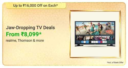 flipkart.com - Smart TVs starting at just ₹8099