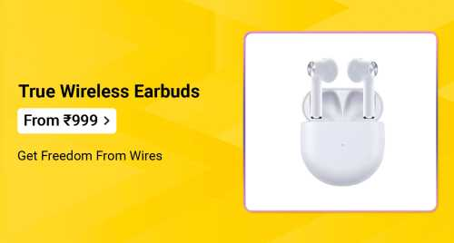 Flipkart Daily Deals & Discount Sale - True Wireless Earbuds starting at just ₹999
