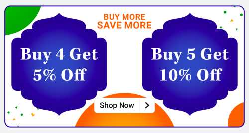 flipkart.com - Buy 4 Get 5% discount on select products
