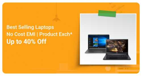 flipkart.com - Up To 40% Discount on Laptops