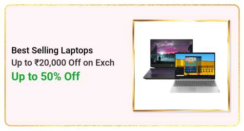Flipkart Daily Deals & Discount Sale - Get Up to 50% discount on Best Selling Laptops