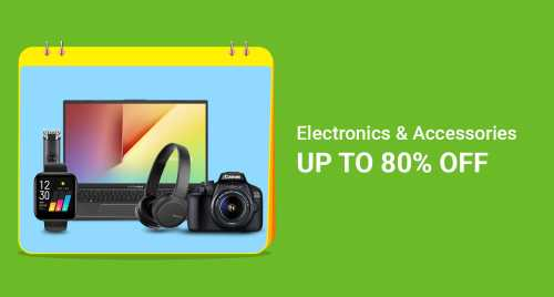 Flipkart Daily Deals & Discount Sale - Avail Up to 80% off on Electronics and Accessories