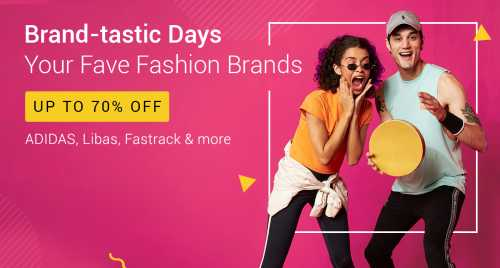 Flipkart Daily Deals & Discount Sale - Avail Up to 70% Discount on Fashion Wear