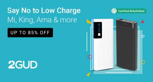 flipkart.com - Up To 85% Off on Power Banks
