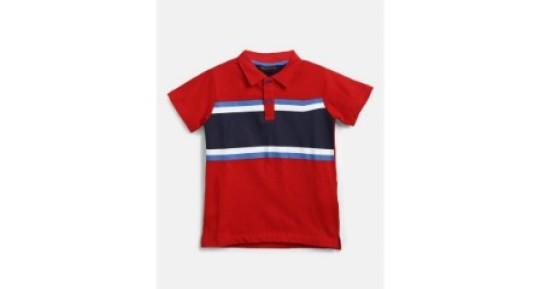 Puppy Love Adolescent Boys Round Collar T Shirts