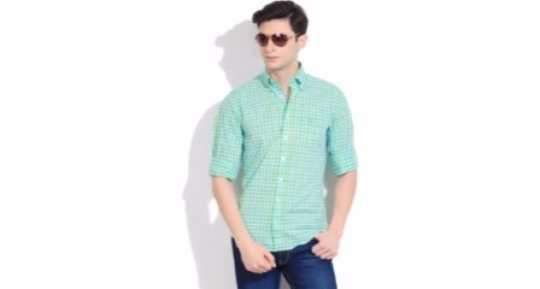 6d97ee59 Linen Shirts - Buy Linen Shirts online at Best Prices in India ...