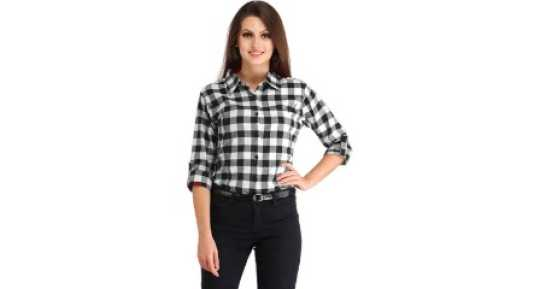 298044f27db64b Women's Shirts Online at Best Prices In India|Buy ladies' shirts from best  brands | Flipkart.com