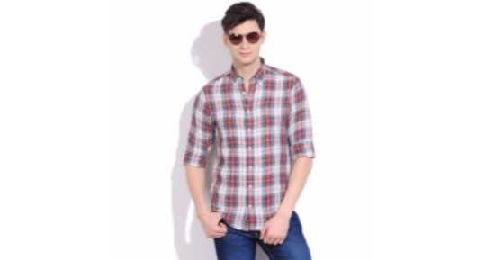 975e3c6c7 Shirts for Men - Buy Men's Shirts online at best prices in India ...