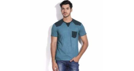 077d2de4a T-Shirts for Men - Shop for Branded Men's T-Shirts at Best Prices in ...
