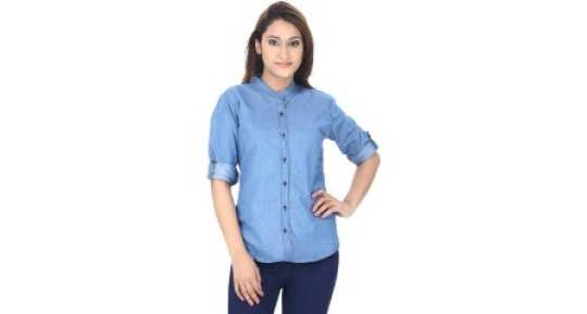 8e2141dbc3f6 Women s Shirts Online at Best Prices In India
